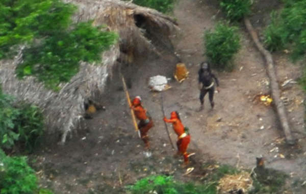 The proposed railway through the Amazon rainforest is likely to devastate the lands of uncontacted tribes